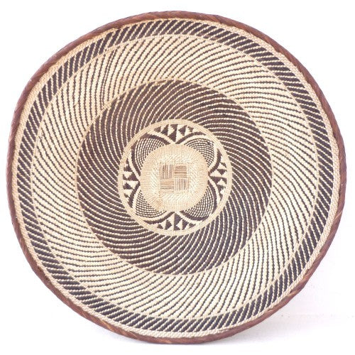 Batonga Handwoven Tray Large