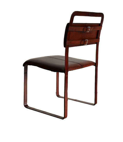 Bakc of Havana Buckle Chair