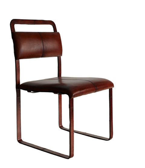 Front of Havana Buckle Chair