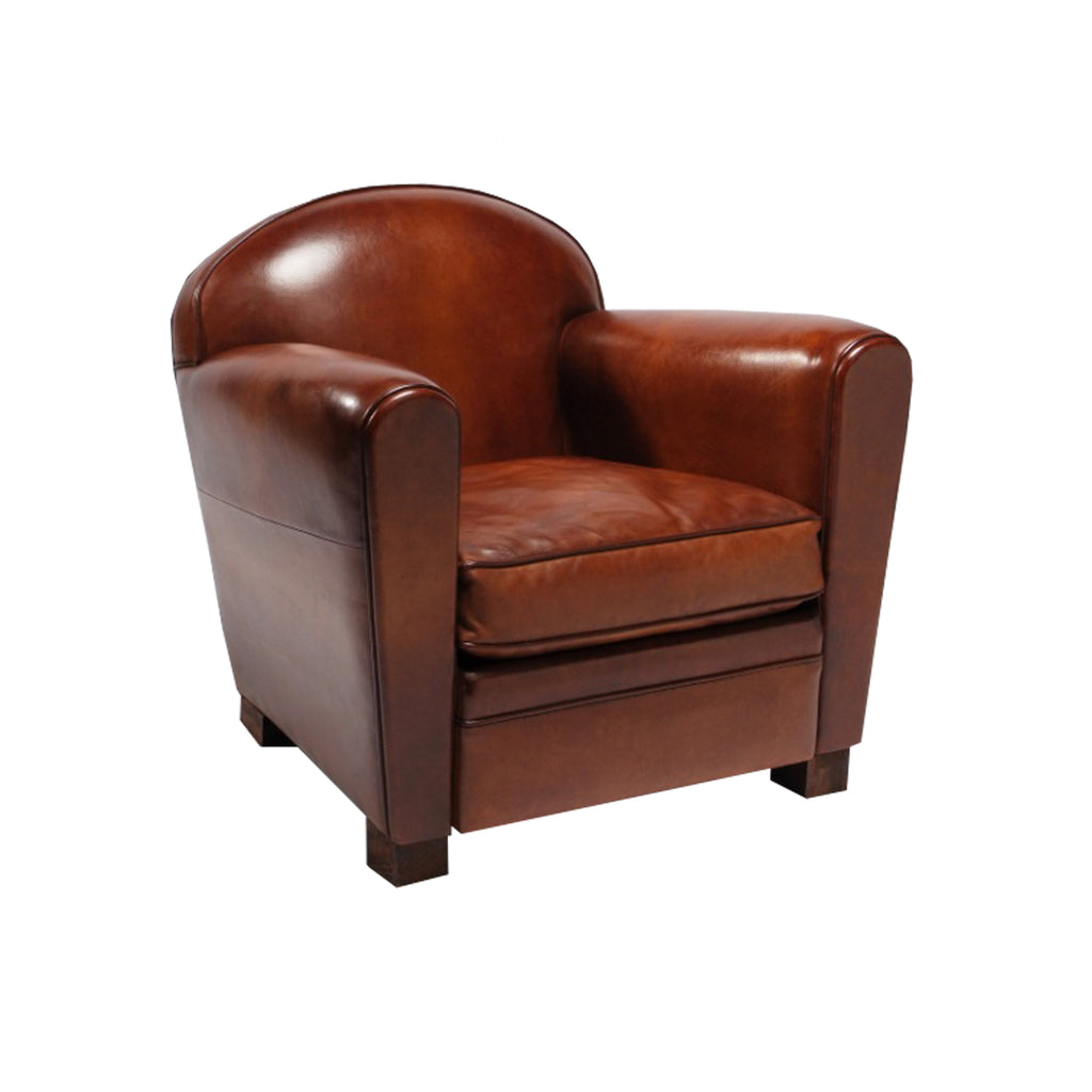 Deco Club Armchair From Front