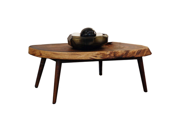 Shikari Raw Wood Coffee Table