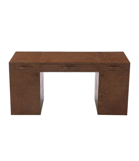 Havana Partners Leather Desk