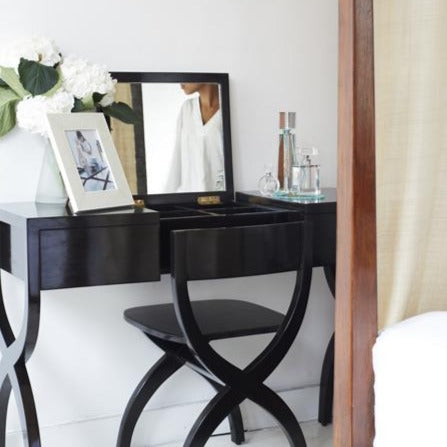 Shikari Dressing Table with chair and decor in home
