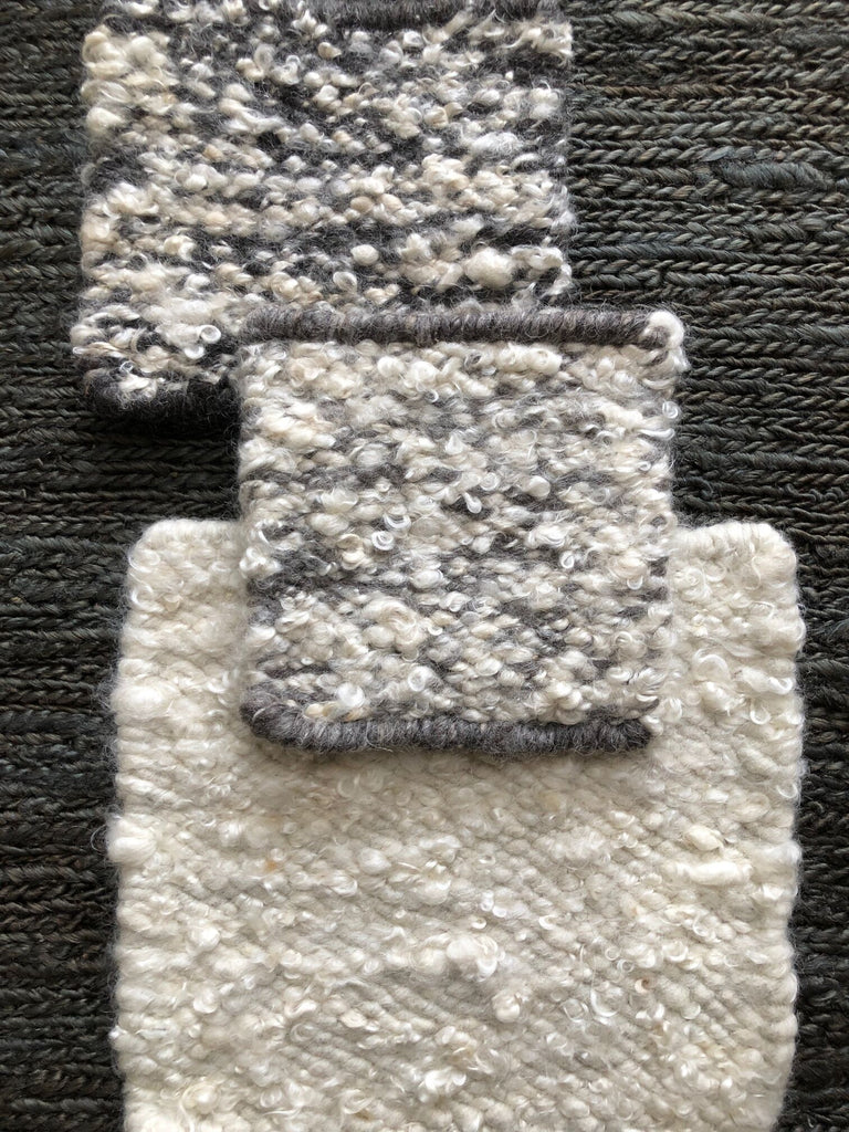 Mohair Rug Texture Swatches