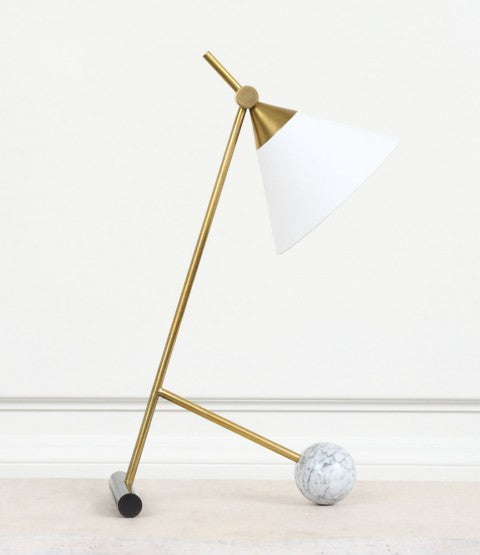 Cleo Table Lamp on wood