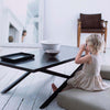 Metro Coffee table with girl on floor
