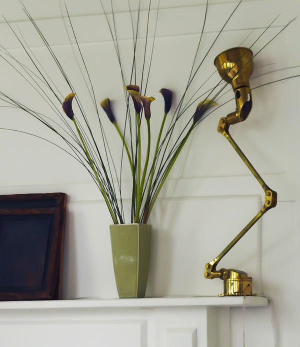 Brass Captain Table Light on Mantle