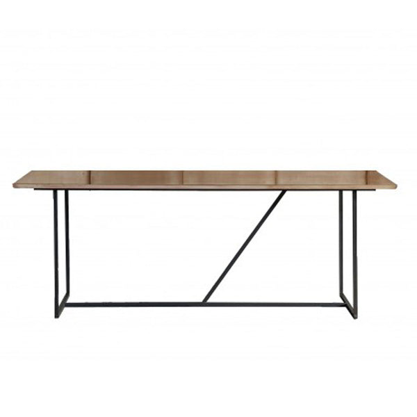 Iron and Brass dining table