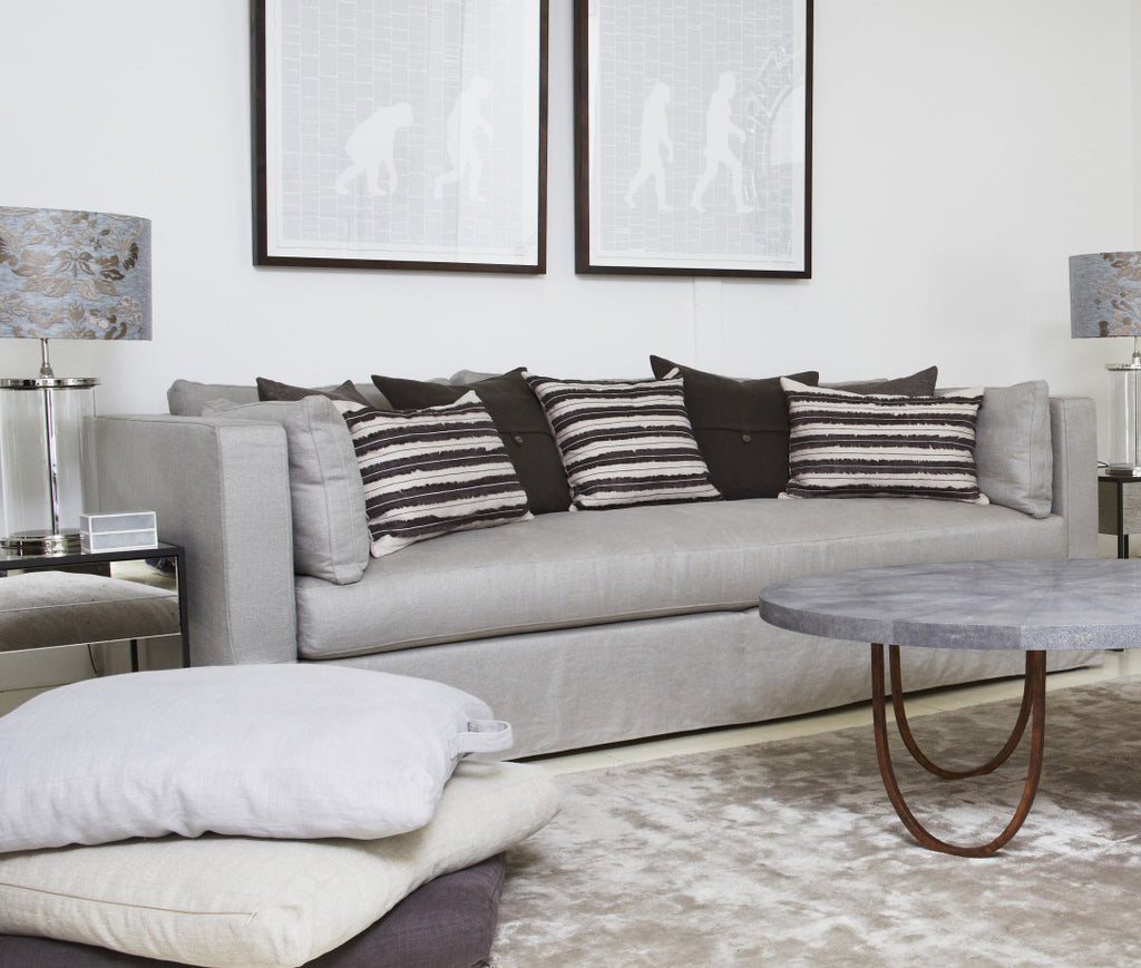 Portabello Sofa In Lounge with Decor