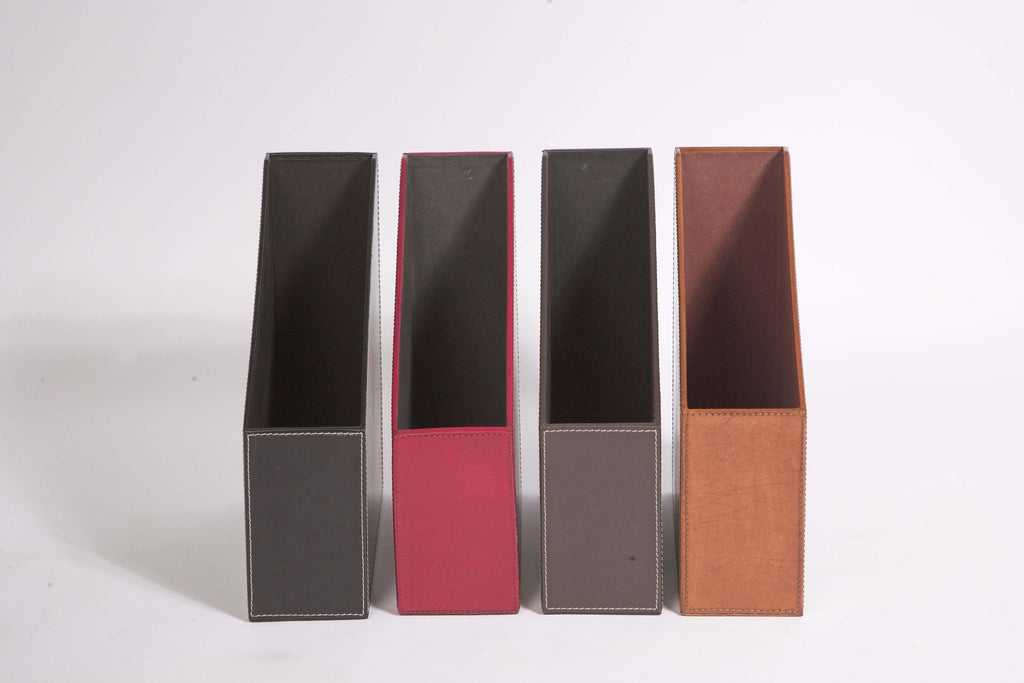 All four Magazine File Colours from front