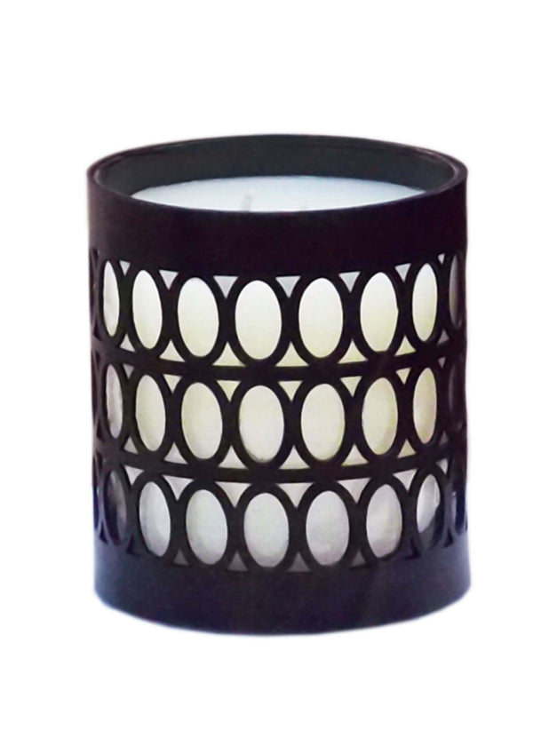 Black small shikari candle