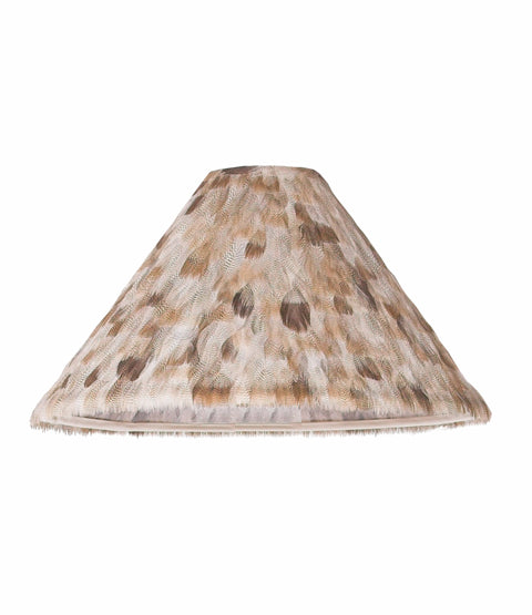 Egyptian Goose Feather Lamp Shade