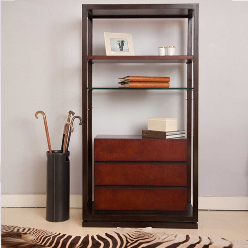 Havana Display Shelving Unit with decor