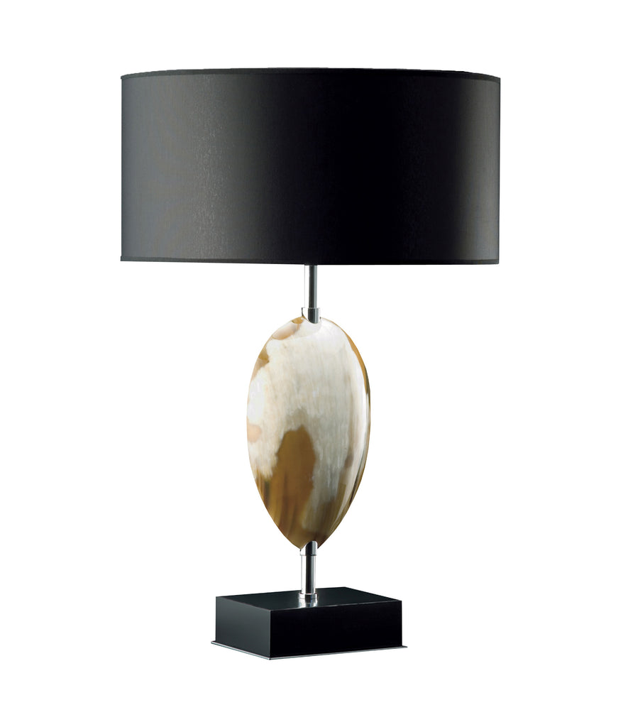 Arca Horn Oval Table Lamp