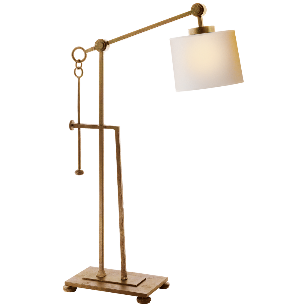 Gold Aspen Gilded rust table lamp