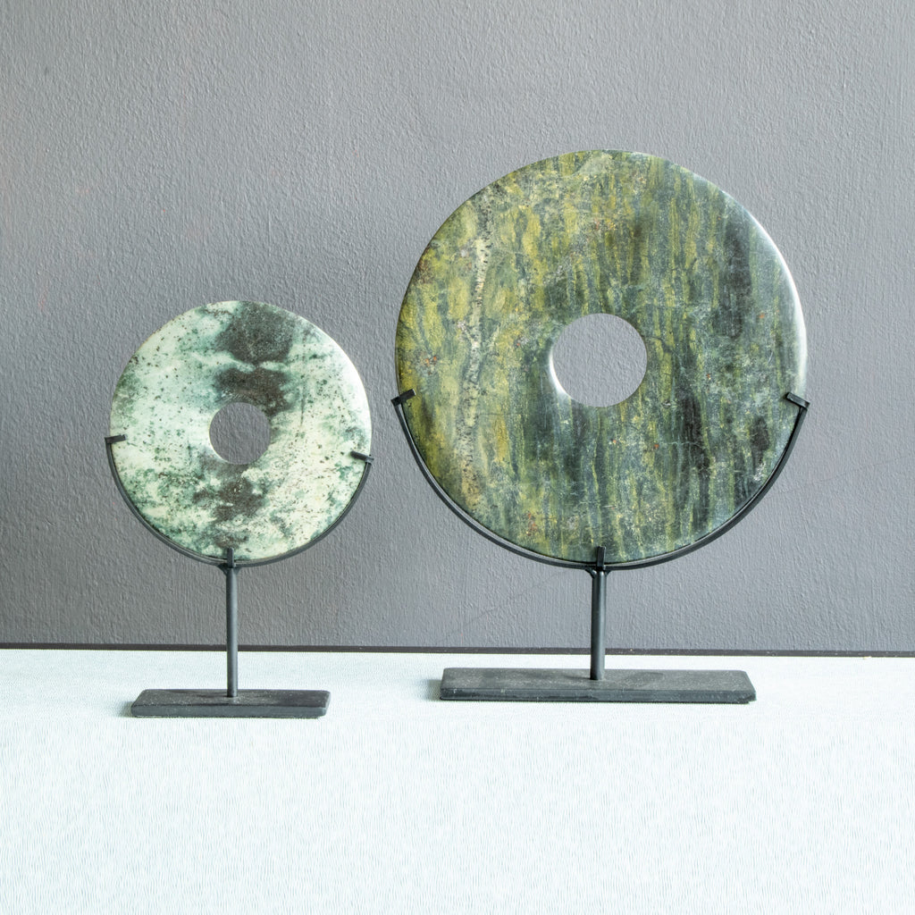 Yubi Decorative Marble Disks