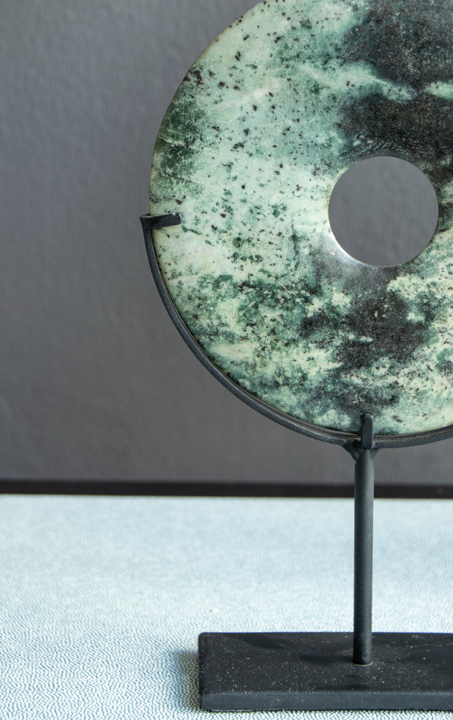 Yubi Decorative Marble Disks half of the small disk