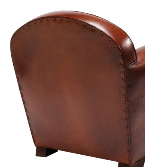 Deco Club Armchair From Back