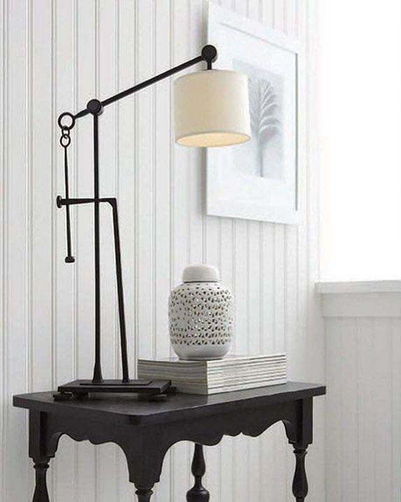Aspen Black Table Lamp