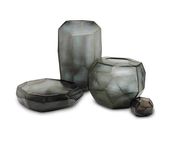 Guaxs Cubistic Set with vase bowl and tealight holder