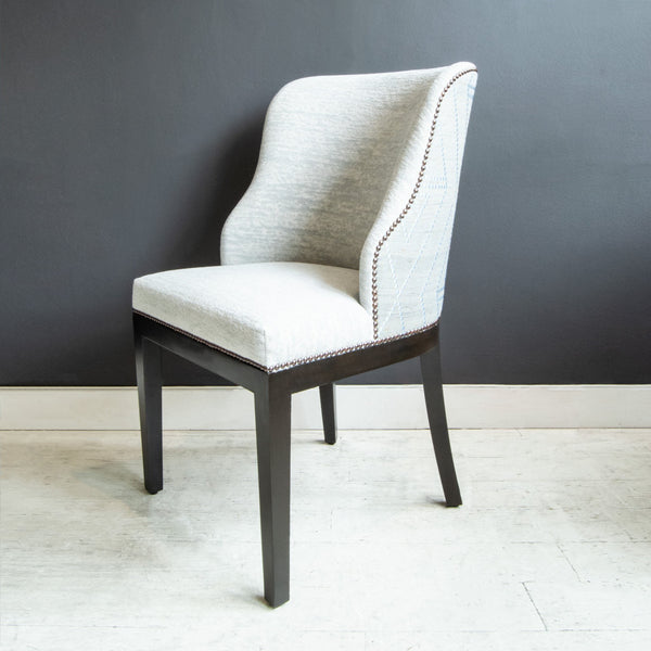 Deco Curved Back Dining Chair