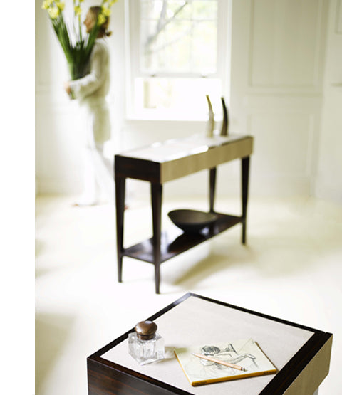 Deco Side table with Long table in background
