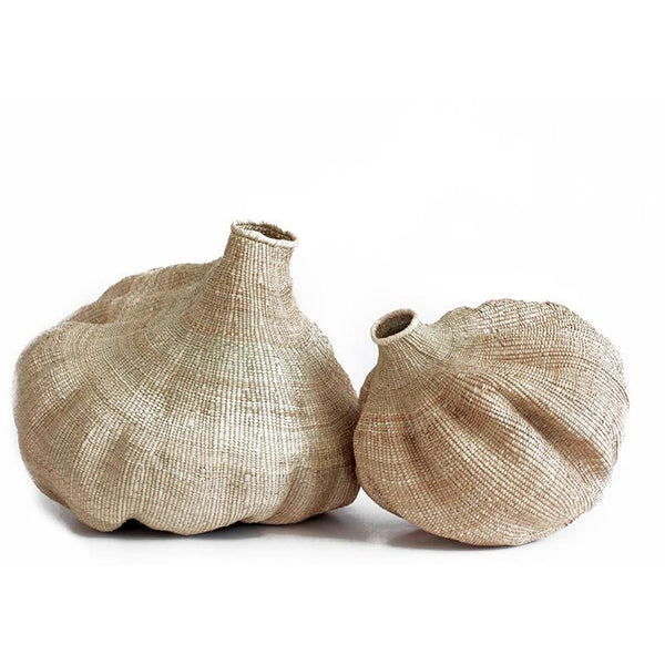 Large and Medium Organic Gourd Baskets