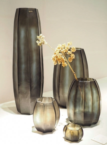 Guaxs Koonman Vase set with flowers and candle holders