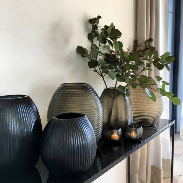 Guaxs Nagaa Vases in home with other guax