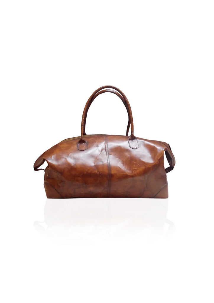 Havana Leather Travel Bag