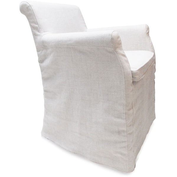 Linen Cover Armchair