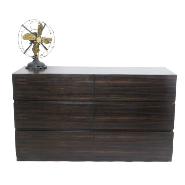 Metro Chest of Drawers with Antique fan