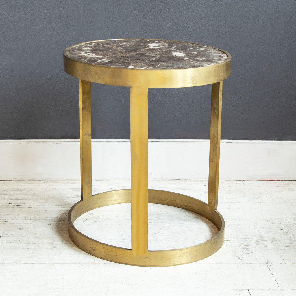 Metro Emporador brass side table