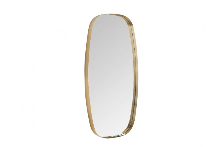 Brass Frame Wall Mirror