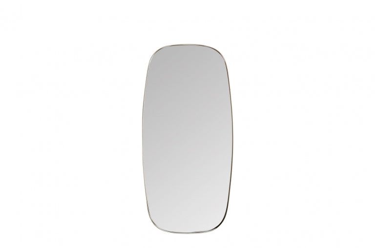 Brass mirror from front