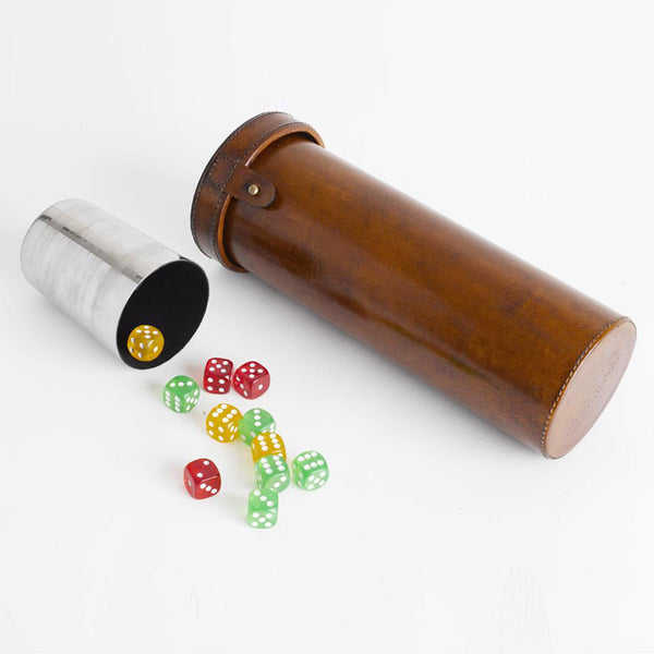 Havana Leather Perudo Games set