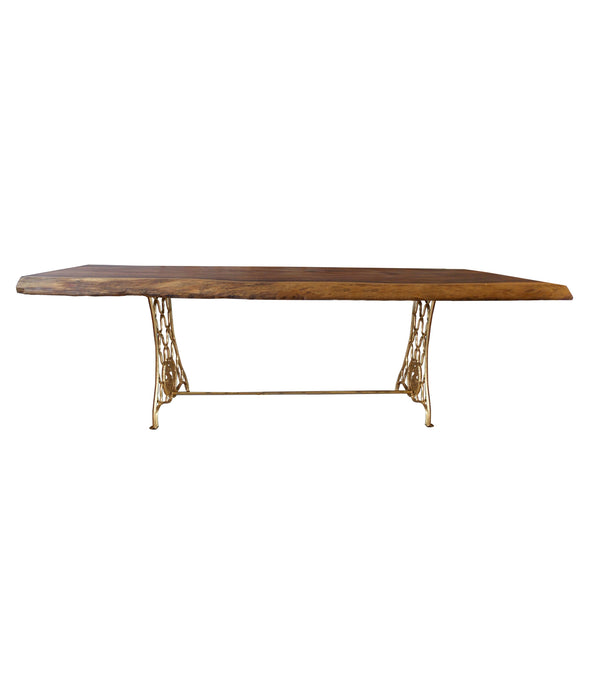 Shikari Raw Wood Dining Table
