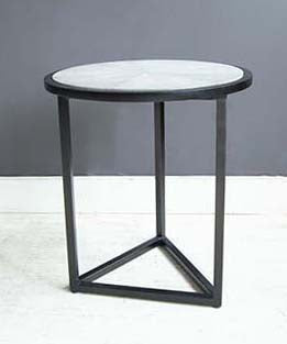 Shagreen Triangle side table