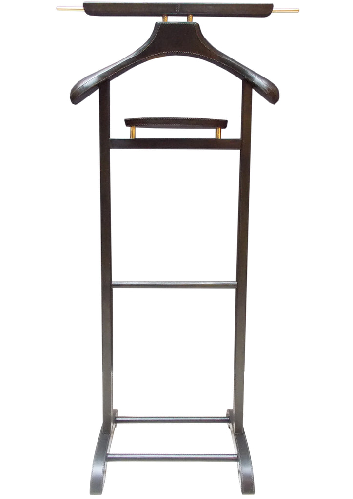 Oliver Leather Havana Valet Stand
