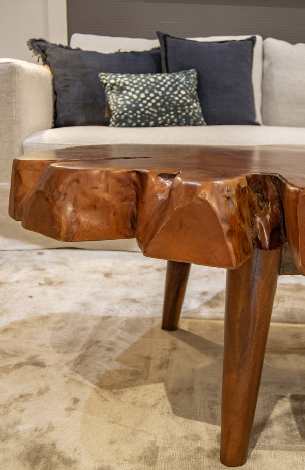 Wany Edge Coffee Table from Side