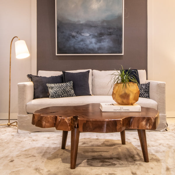 Wany Edge Coffee Table in Home