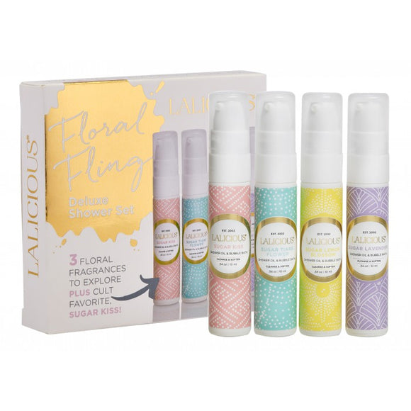 Sweet Escape Shower Oil & Bubble Bath Pumps