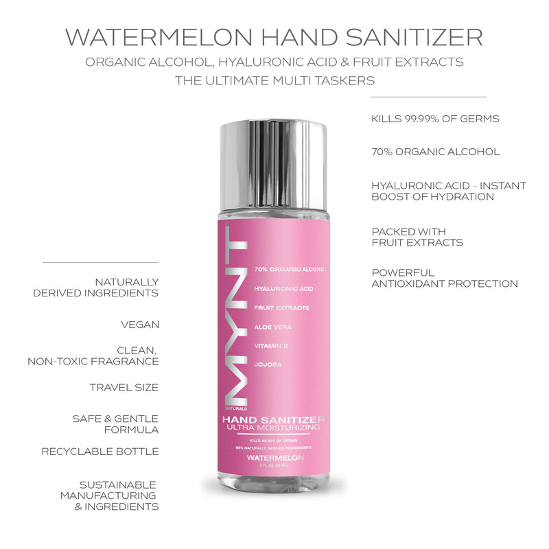 MYNT HAND SANITIZER WATERMELON  4 FL OZ