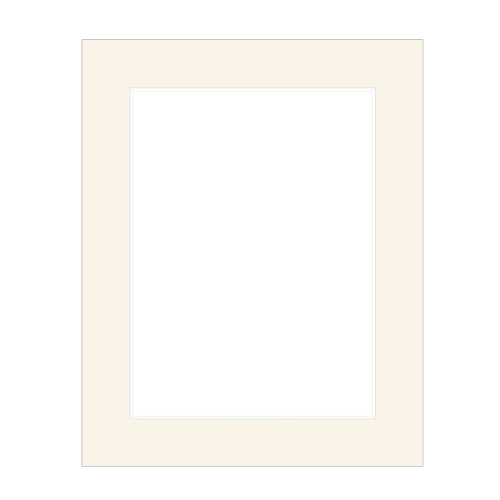 Profile Antique White 8x10 Matboard for 5x7