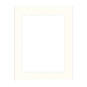 Profile Ice White 6x8 Matboard for 4x6