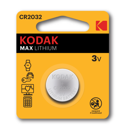 Kodak CR2032 - 3v Lithium Battery