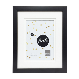 Deluxe Black 10x12 Frame for 6x8