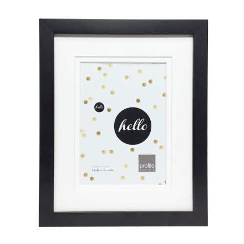 Deluxe Black 11x14 Frame for 8x10