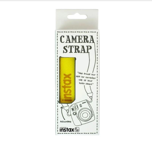 FujiFilm Instax Camera Strap Yellow