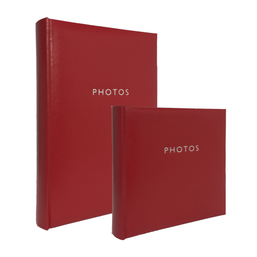 Glamour Red 4x6 (200) Photo Album